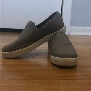 Gray Sperry Shoes